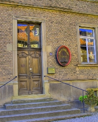 Eingang Heimatmuseum Guldental